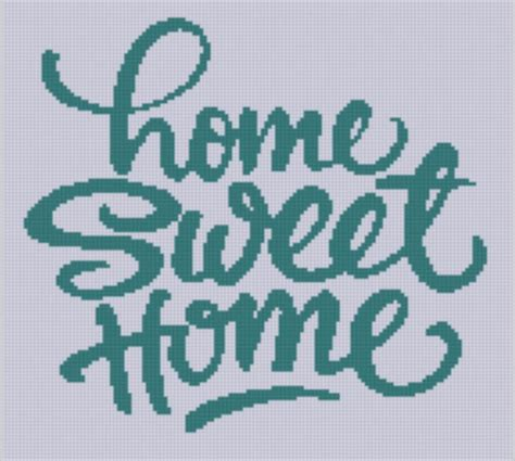 Home Patterns | home sweet home 2 cross stitch pattern by mfdpatterns