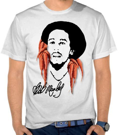 Kaos Bob Marley Marley 18 by Jual Kaos Bob Marley Reggae Tokoh Satubaju