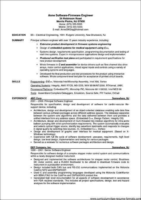 resumes for experienced professionals 77 images how to write