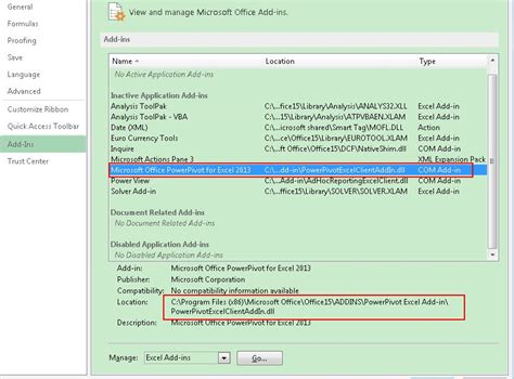 how to show powerpivot tab in excel 2010 take a tour of installing power pivot in excel how to show powerpivot tab