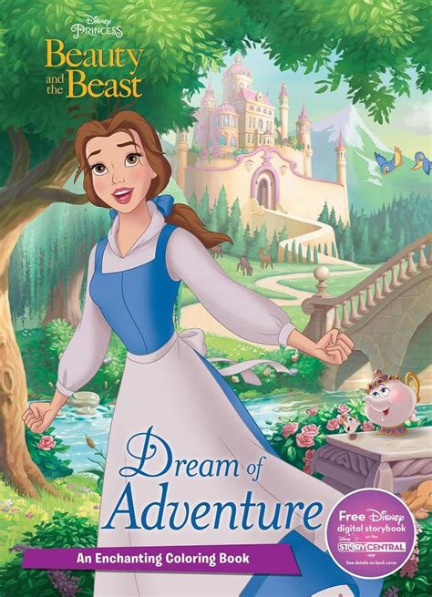 libro disney beauty and the libro con dibujos para colorear la portada puede variar
