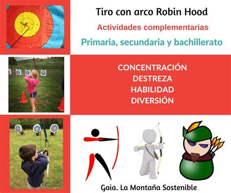 robin hood eso material 8431677538 actividades para alumnos de primaria gaia la monta 241 a sostenible