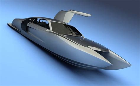 wooden boat r design concept cat viztech quot h2o r8 quot future yachts concept