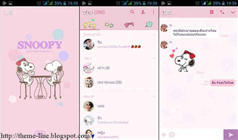 theme line snoopy free theme line snoopy belle line theme