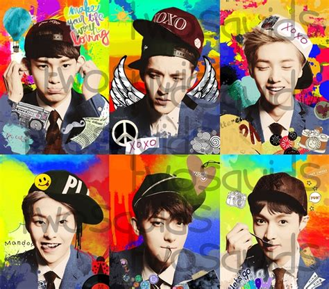 exo wallpaper 2013 xoxo exo m xoxo edited teaser pic by twosquids on deviantart
