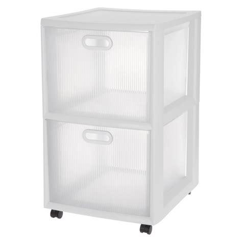 sterilite storage drawers target sterilite 174 ultra 2 drawer storage cart white target