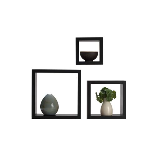 Floating Square Shelves Cube Wall Mounted Decorative Square Floating Shelves