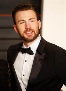 Chris Vanity Fair Oscar Images