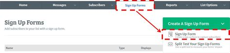 Where To Go To Sign Up For Section 8 by Build A List With Aweber Step By Step Start Today