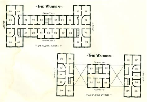 the warren floor plan the warren hotel north granville ny floor plan 2