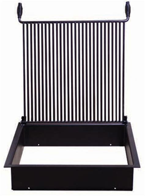 pit grate square 28 inch square pit removable flip grate