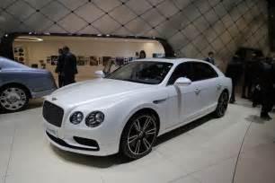 Flying Spur Bentley Bentley Flying Spur V8 S Makes Its Debut In Geneva