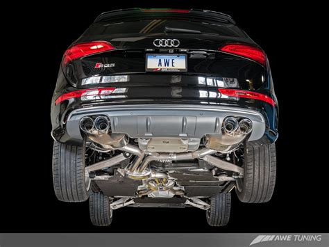 Audi Sq5 Auspuff by Awe Tuning Audi Sq5 Touring Edition Exhaust