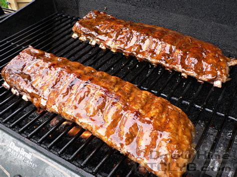 make sorghum glazed pork ribs cook like