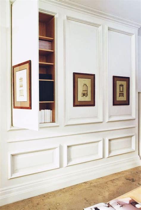 hidden storage inspiration hidden bookshelves behind panels house