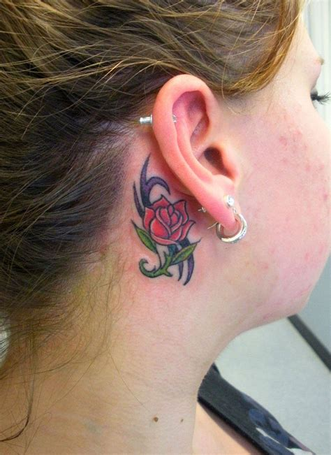 tattoo behind ear images 41 cool behind the ear tattoo designs