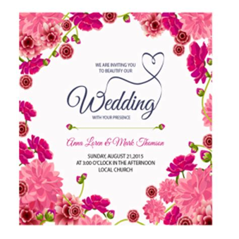 Wedding Card Png by Blank Wedding Invitation Templates Png Matik For