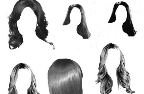 hair download for photoshop 100 free hair brushes for photoshop users designbeep