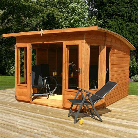 10 x 10 ft wooden t g contemporary summerhouse from westmount living westmount living