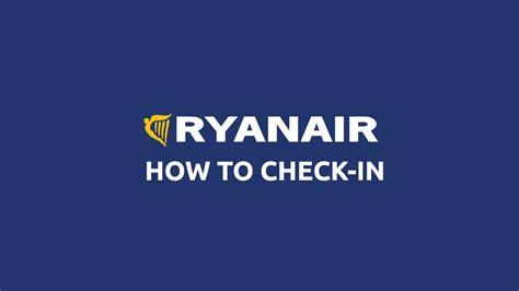 How To Check In With Ryanair