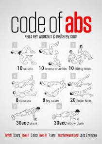 in home exercises code of abs courtesy of neilarey exercise