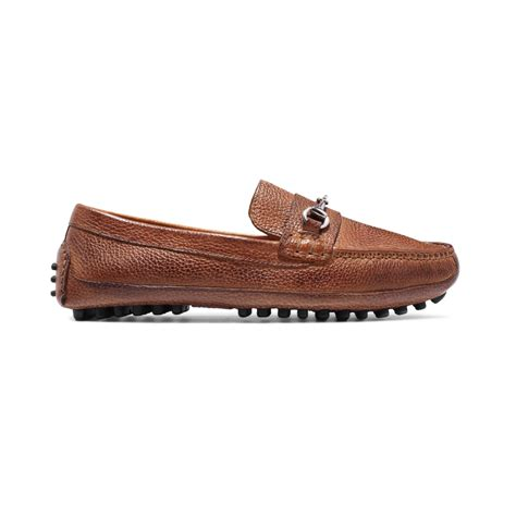 cole haan bit loafer cole haan grant canoe bit loafers in brown for lyst