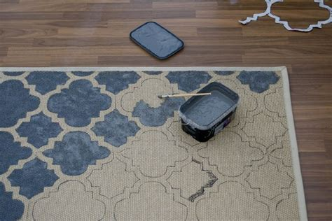 painted rug stencils best 25 stencil rug ideas on stenciled floor painting rugs and paint a rug