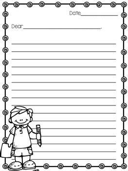 Dear Teacher End Of The Year Letter Template By Tonyas Treats For Teachers Dear Letter Template