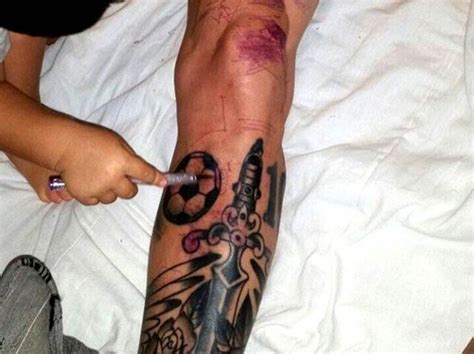 tattoo quiz playbuzz which footballers have these crazy tattoos playbuzz