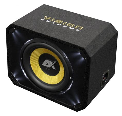 Speaker Acr 1000 Watt esx vision ve300 bassreflex subwoofer mit 30 cm bass 1000 watt max ebay
