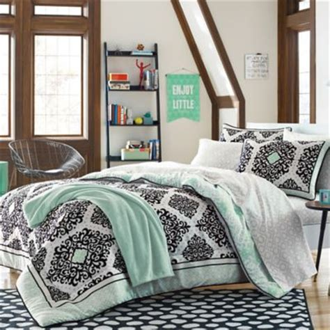buy cooper 7 piece dorm kit in mint from bed bath beyond