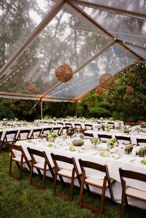 backyard tent weddings 10 chic wedding tent styles