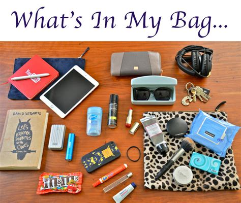 what s in a tuesday what s in my bag my style pill