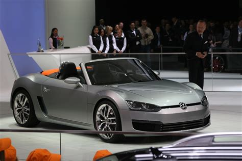 volkswagen sports car vw bluesport roadster concept 187 autoguide com news