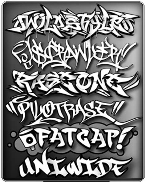 printable graffiti fonts graffiti letters best graffitianz