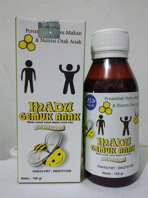 Obat Gemuk Herbal Hpai madu gemuk anak jual harga agen grosir murah termurah