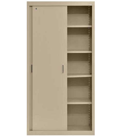 Metal Storage Cabinet Steel Storage Cabinet 72 Inch High In Storage Cabinets