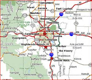 map castle rock colorado get local maps and links for denver castle rock and