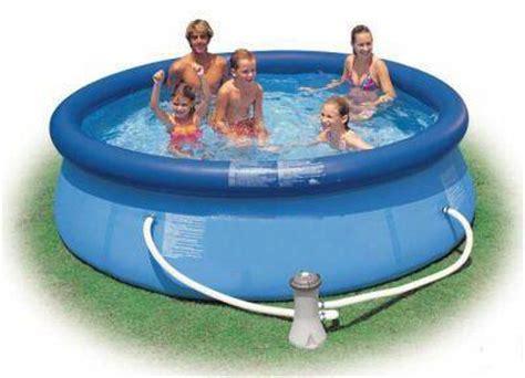 piscine da giardino intex piscina gonfiabile da giardino