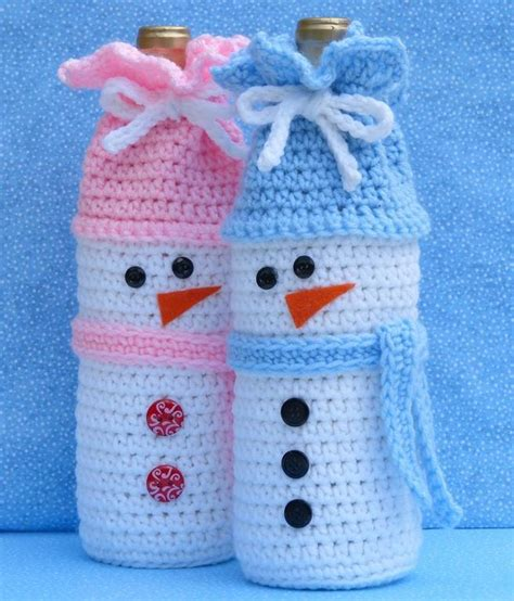 pattern for crochet bottle bag 18 patterns for crochet christmas gift bags boxes and pouches