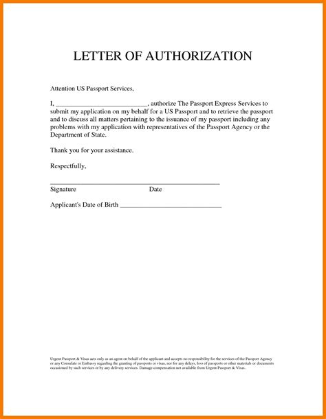 authorization letter insurance 6 authorization letters to act on my behalf mailroom clerk