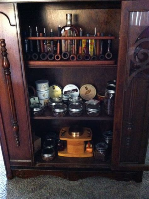 Pipe Cabinet by Show Us Your Pipe Rack Or Cabinet Pipes Accessories