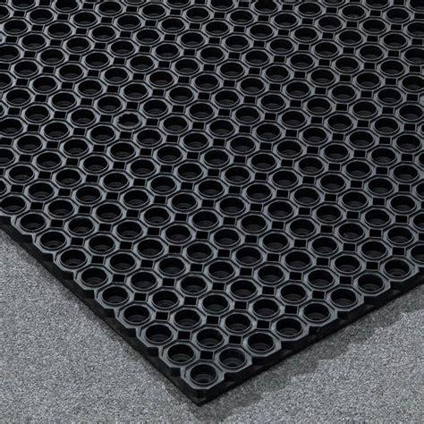 Rubber Door Mats With Holes Quot Eight Quot Rubber Door Mat Aj Products