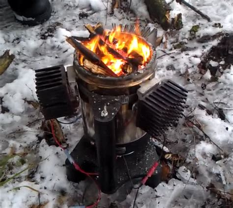 thermoelectric wood cookstove bioheavy dan s workshop