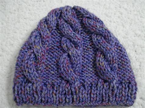 gorros dos agujas gorro de lana tejido a dos agujas creaciones