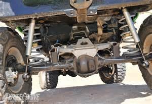 Jeep Tj Rubicon Axles 1006 4wd 08 2003 Jeep Wrangler Tj Rubicon 44 Rear