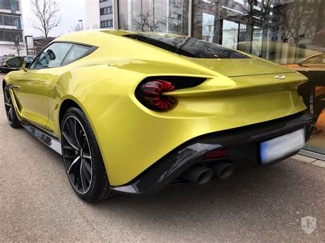 aston martin zagato black yellow aston martin vanquish zagato is an 880k piece of