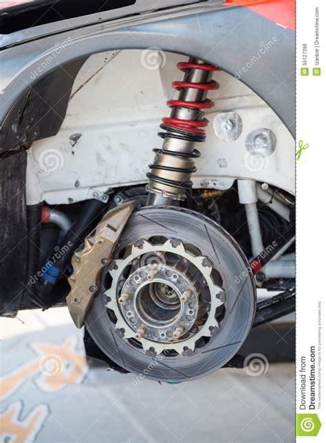 rally car brake system detail stock photo image 55127296