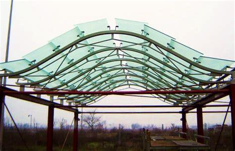 tettoie in ferro e vetro pensiline coperture e tettoie