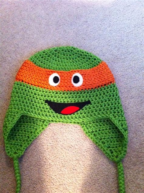 free pattern ninja turtle crochet ninja turtle hats free patterns teenage mutant